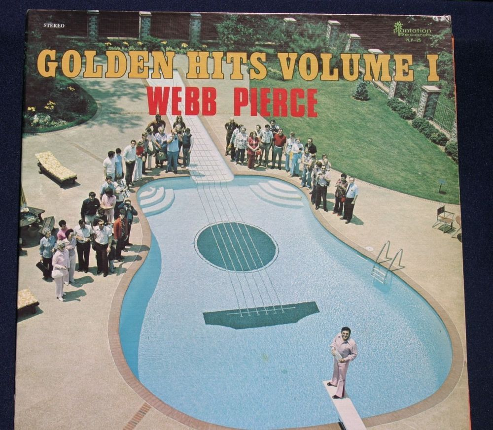 details about webb pierce golden hits volume 1 1976 record album