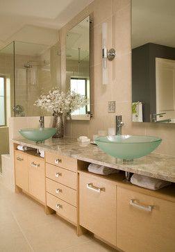 Linea HZ White Oak - Bellmont Cabinet Co.