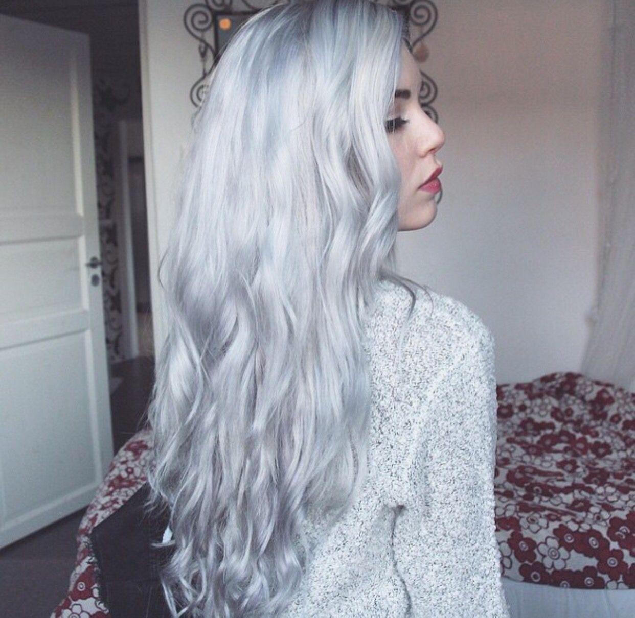 Pin by boringuser on grey white hair pinterest white hair and