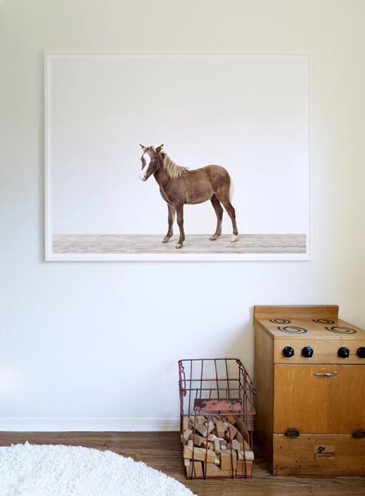 Horse Print Kara Rosenlund