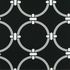 black, grey, and white geometric outdoor fabric