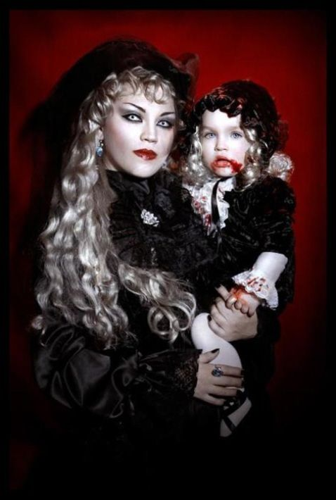 Gothic Fashion Ladies (11) photography Pinterest Gothic - mother daughter halloween costume ideas