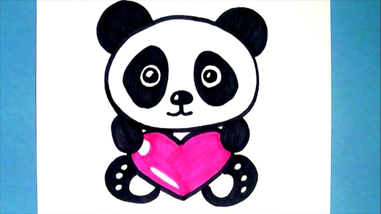 Pixel art comment dessiner un panda kawaii pas a pas youtube - Dessins de panda ...