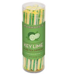 Hot Idea of the Day:  Stay Cool with Hammond's Key Lime Iced Tea Sippers