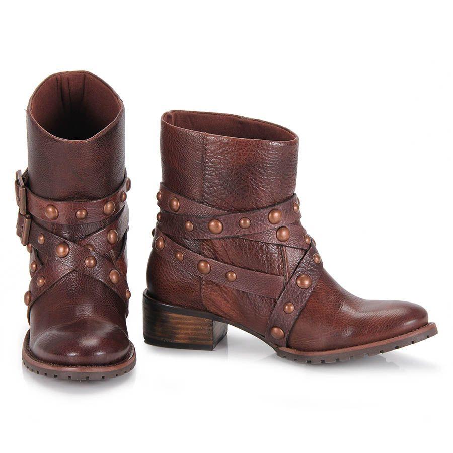 bafa67e93 Coturno Feminino Dumond 4107837 - Cafe | Brown | Coturno, Sapatos e ...