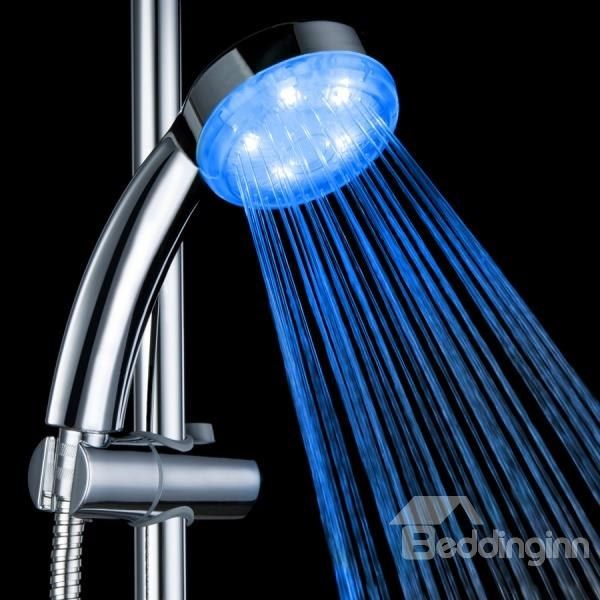 High Quality Abs Led Color Changing Shower Head Faucet With