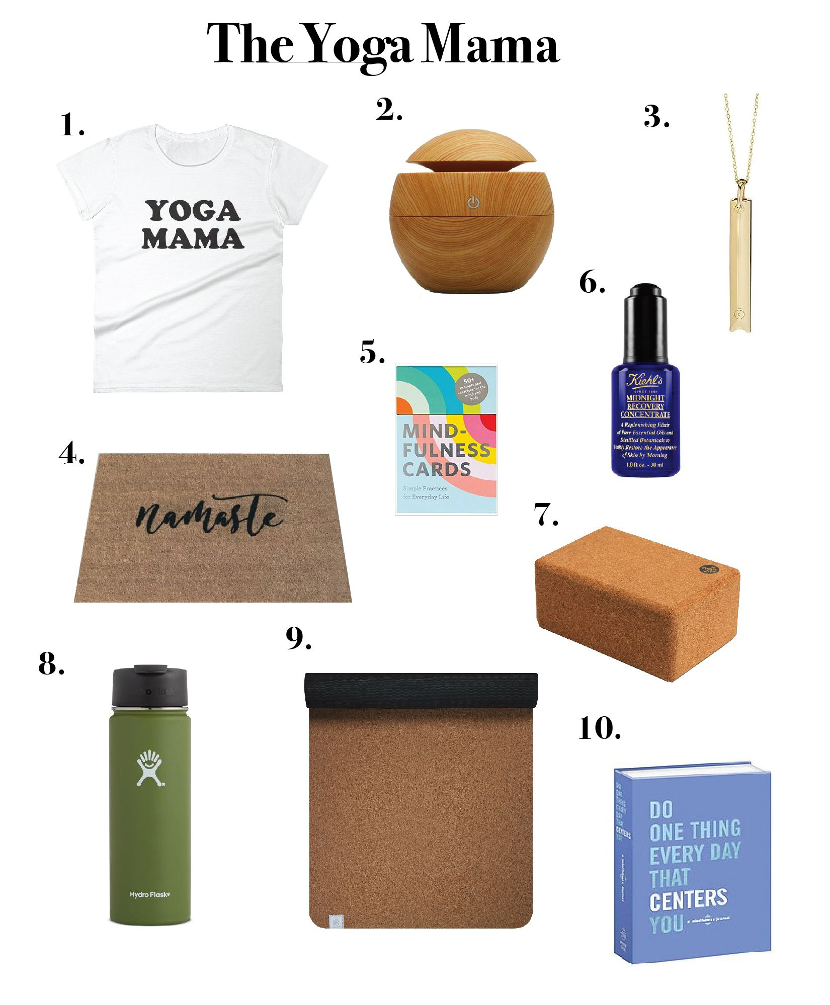 Yoga Gifts, Gift Guide, Holiday
