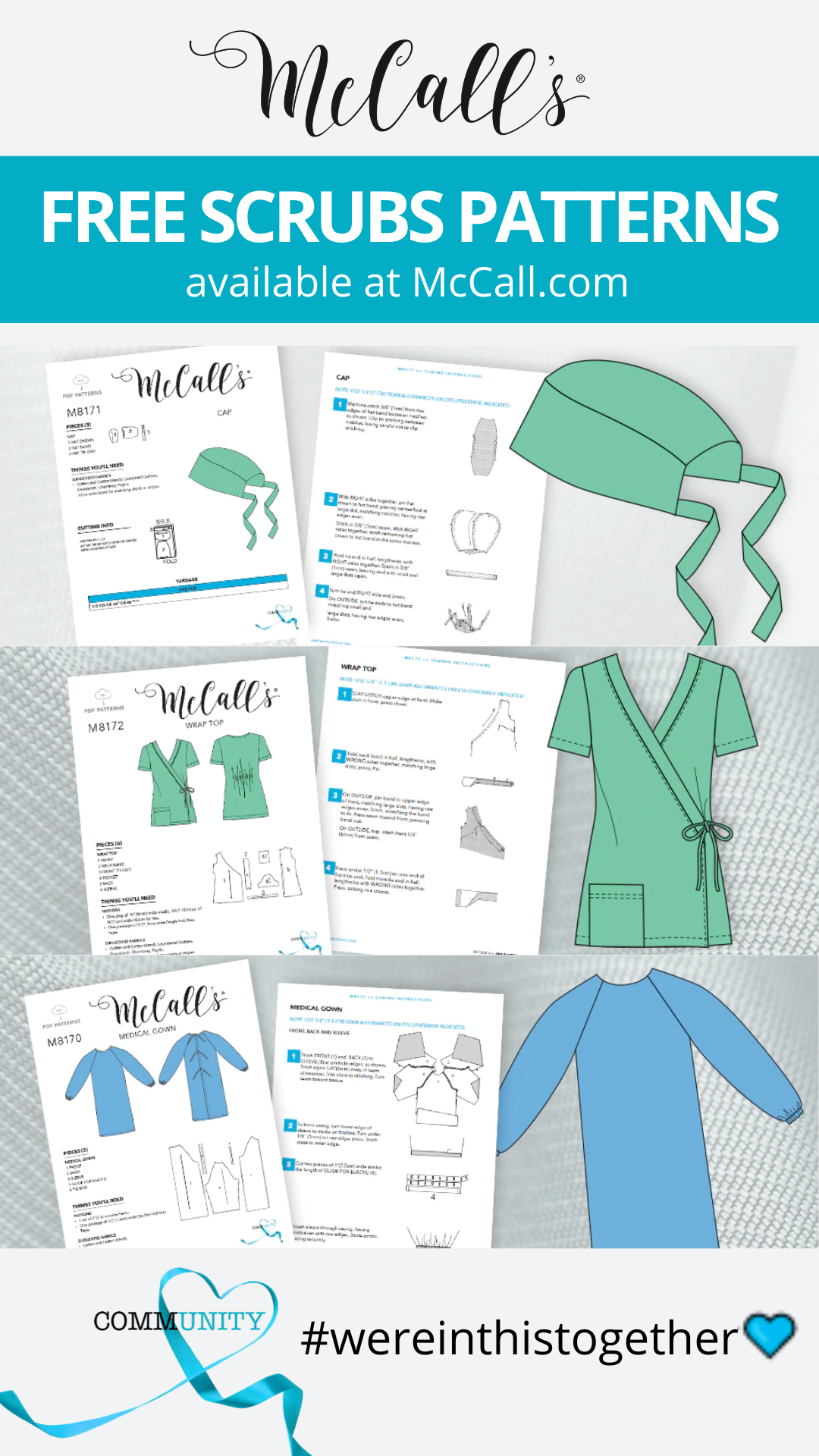 FREE Downloadable Scrubs Patterns!