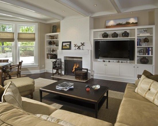 Tv Wall Units Design Pictures Remodel Decor And Ideas Page 19 Living Room Wall Units Family Living Rooms Basement Remodeling