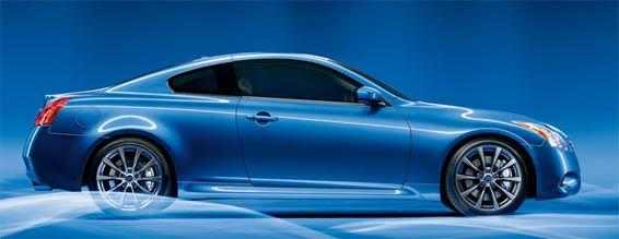 My Gorgeous 09 Infiniti G37 Coupe Slate Blue Single Life Car