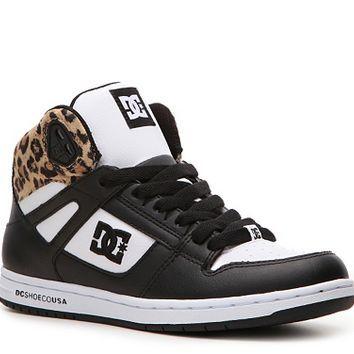 DC Shoes Rebound High-Top Skate Sneaker