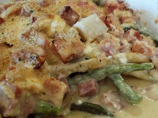 Christine's Kitchen Chronicles: Green Bean Ham Potato Casserole