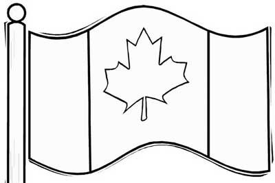 Canada Day Coloring Pages With Images Canada Day Crafts Free