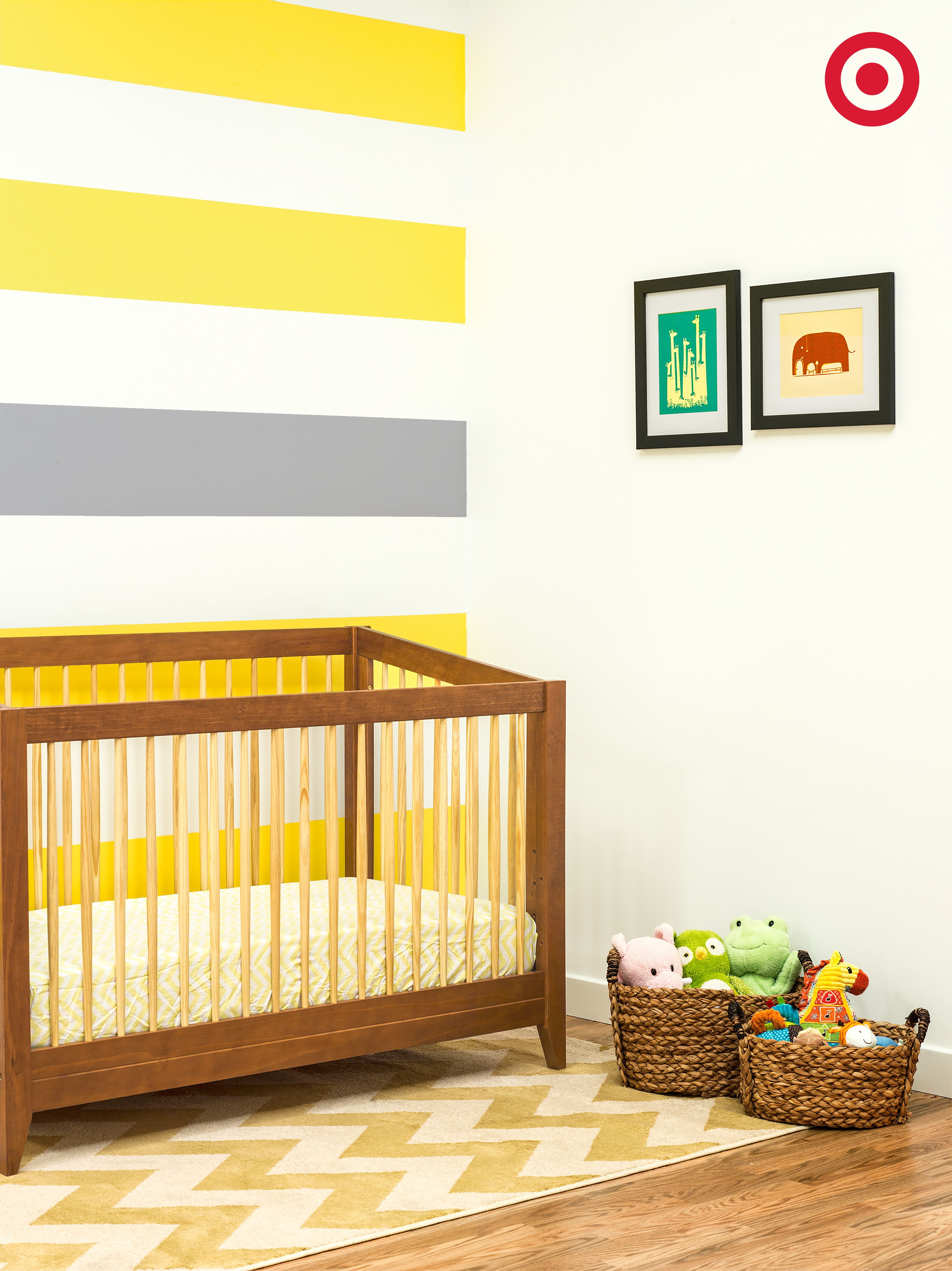 Stripes, chevron or polka dots — add bursts of color to Baby\'s ...