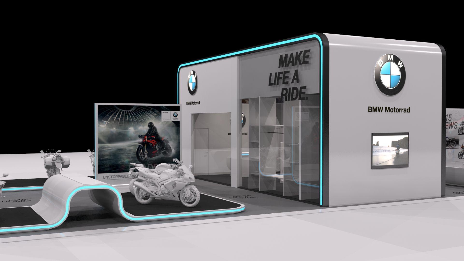 exhibition design stand bmw motorrad 2015 by underline stands pinterest bmw. Black Bedroom Furniture Sets. Home Design Ideas