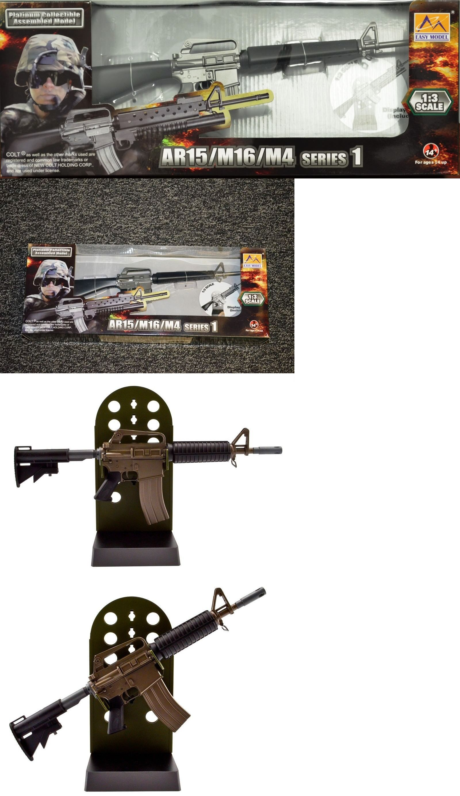 Other Military Models And Kits 1191 M16a1 Colt Rifle Model 1 3