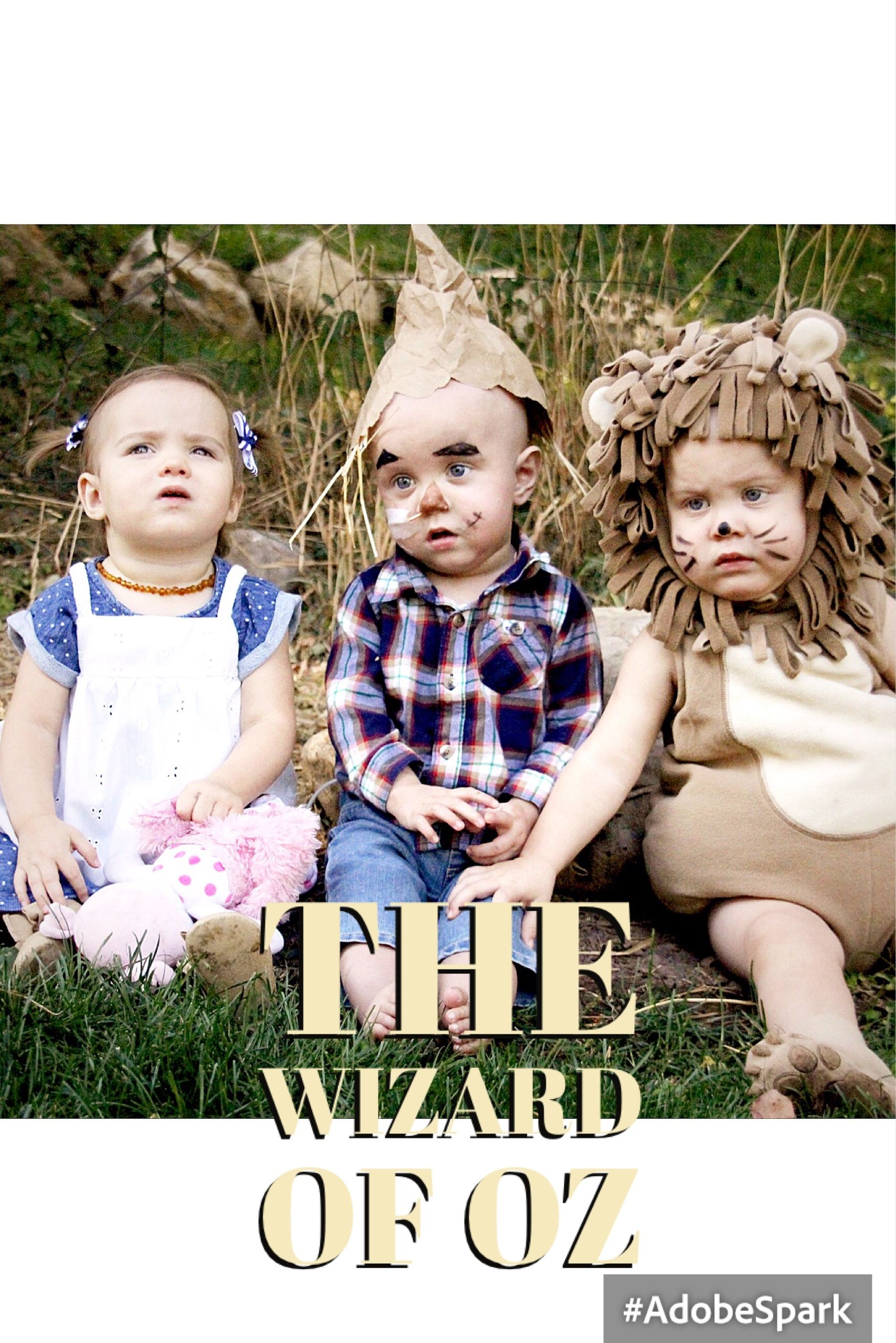 the wizard of oz triplet halloween costumes the tate triplets jpg 1708x2560 three amigos sew quotes