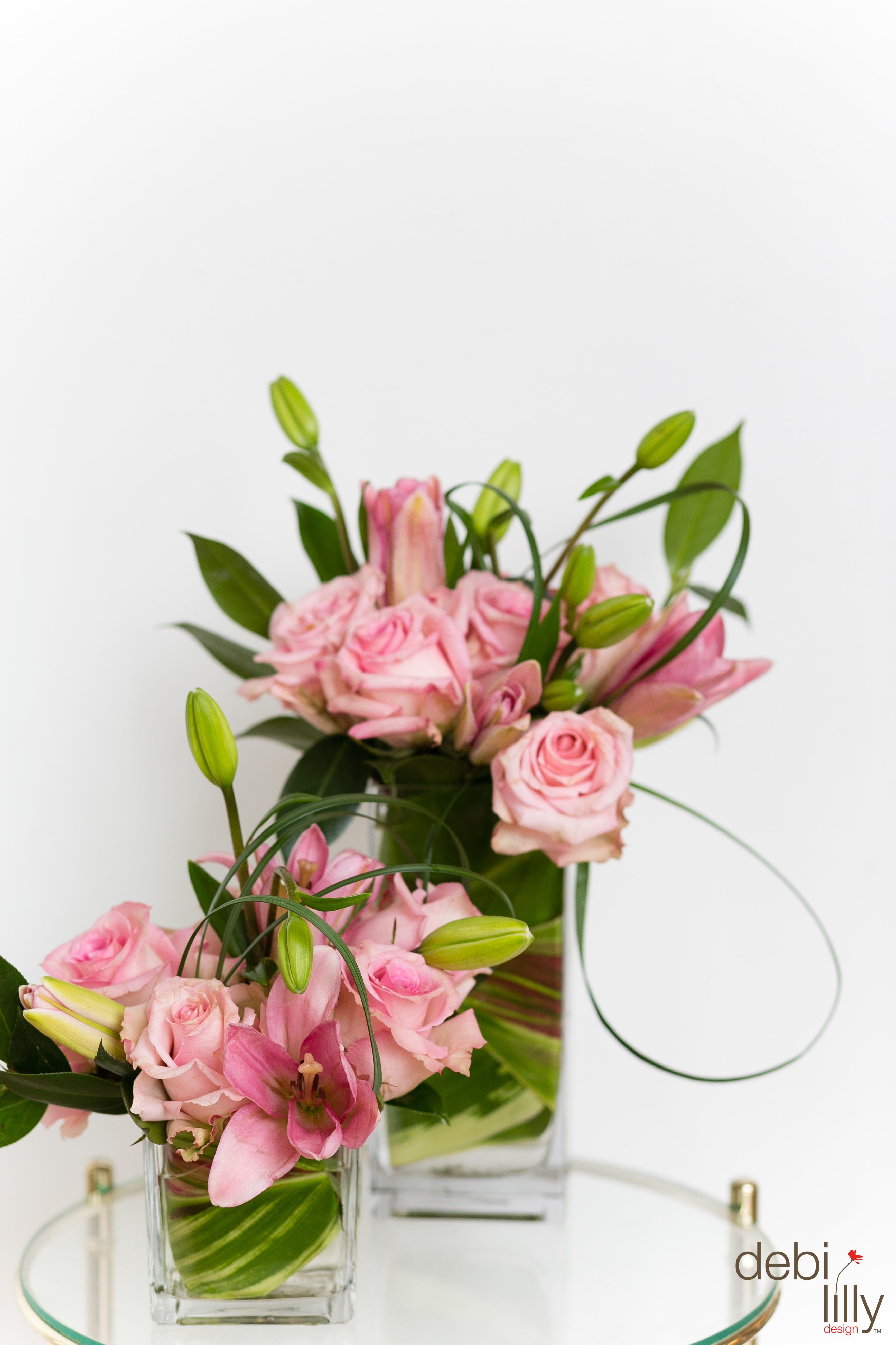 Pink Pink And More Pink These Pink Flowers In A Debi Lilly Design
