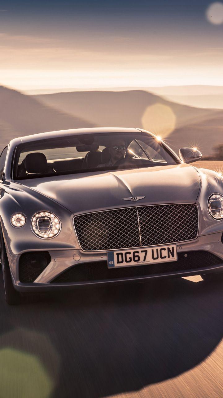 Downaload Bentley Continental Gt Luxury Car On Road 2018