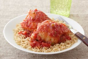 "Slow-Cooker Chicken ""Osso Buco"""