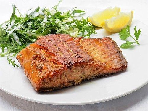 Lachsfilet mit Honig-Senf-Glasur von abydos21   Chefkoch