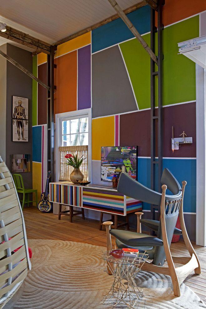 Peinture murale pour une ambiance du0027intérieur gaie Interior design