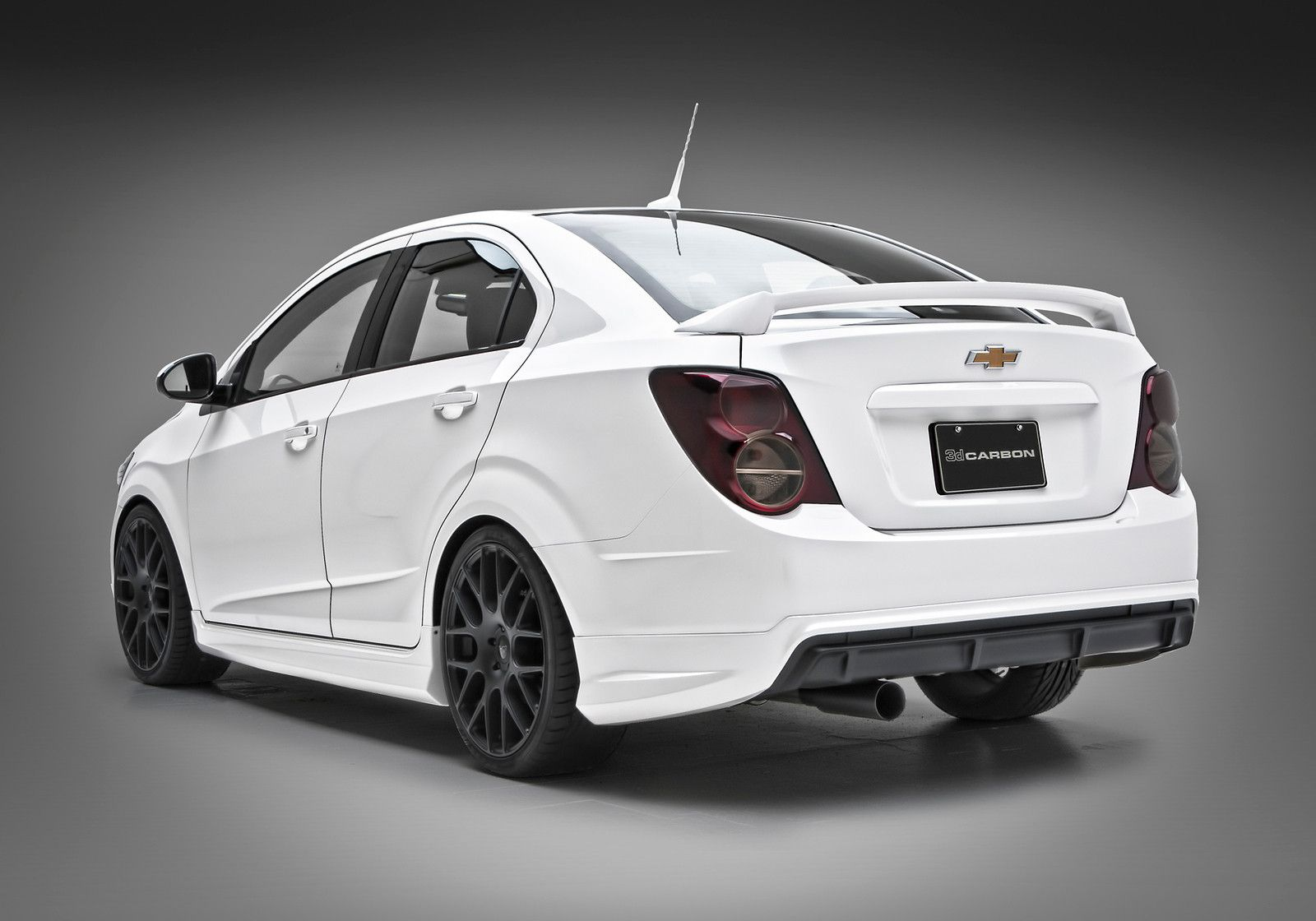 Chevrolet Sonic 4 Dr Sedan Urethane 3dcarbon 5 Piece Full Body