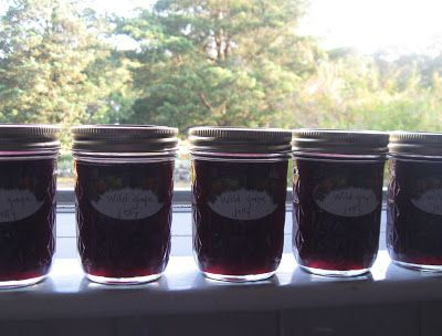 Cooking Pilgrim: wild grape jelly recipe