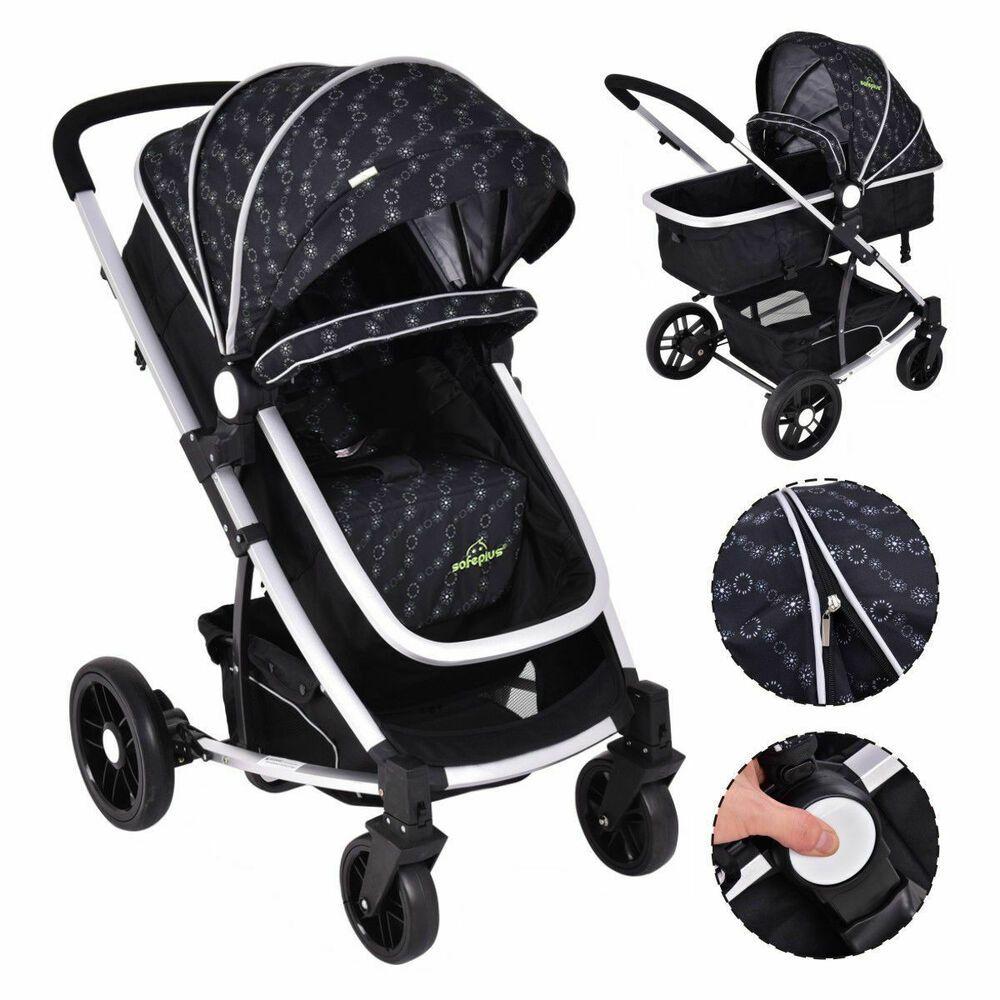 2 In1 Foldable Newbor Infant Stroller Baby Kids Travel