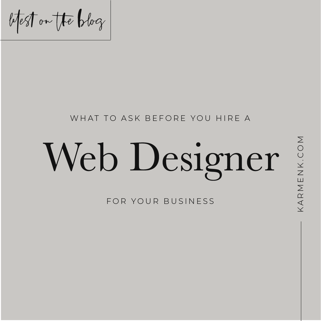 Finding The Right Web Designer For Your Business Website Is An Exhausting Process Here S 3 Questions To As Web Design Business Website Create Your Own Website