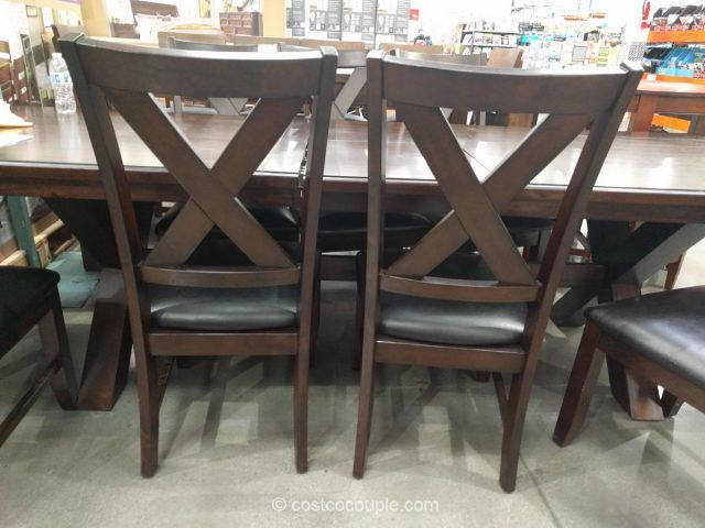 Bayside Furnishings 9 Piece Dining Set Costco Bayside Furnishings Costco Furniture Dining Room Sets
