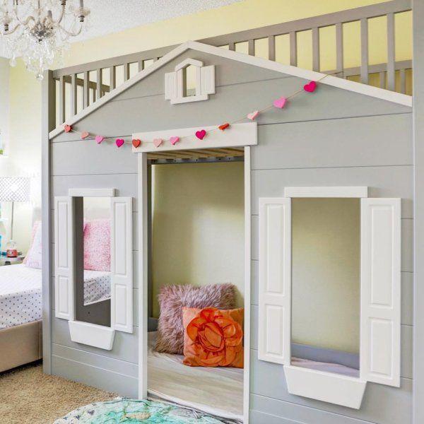 Best Playhouse Loft Bed Pottery Barn Kids Playhouse Loft 400 x 300