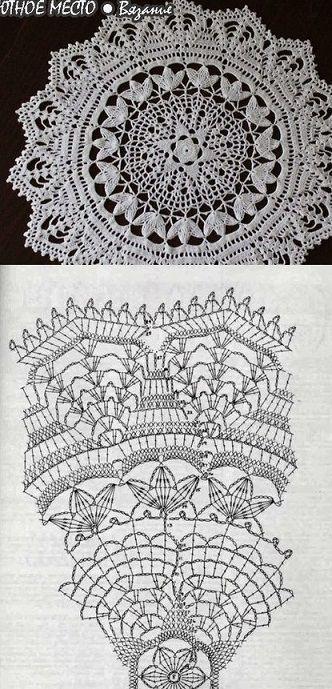 вязание салфетки маленькие вещицы... | Pinterest | Deckchen, Häkeln ...