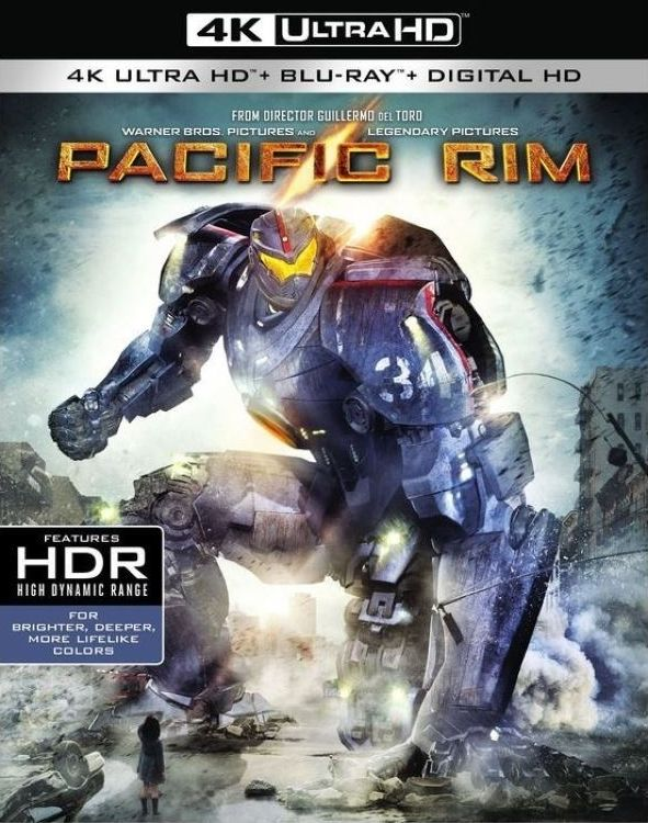 Pacific Rim (2013) 4K Ultra HD Blu-ray