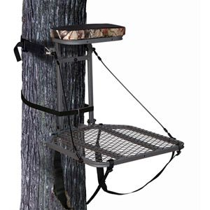 Ameristep Hang On Tree Stand With Realtree Ap Patterned Cushion At Walmart Or Fleet Farm He Doesn T Wa Tree Stand Accessories Cushions Tree Stand