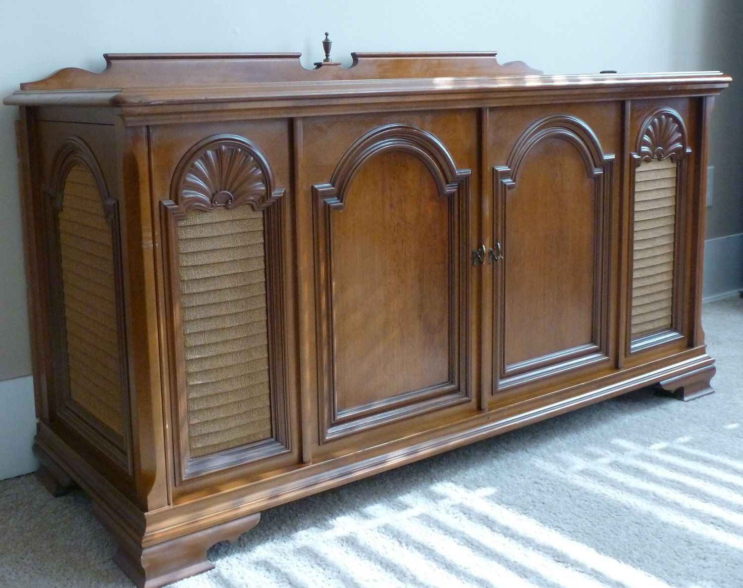 Cabinet Record Player 1969 Magnavox Vintage Record Player Stereo Console Vintage Radio