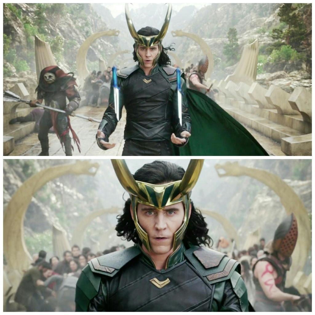 tom hiddleston in thor ragnarok