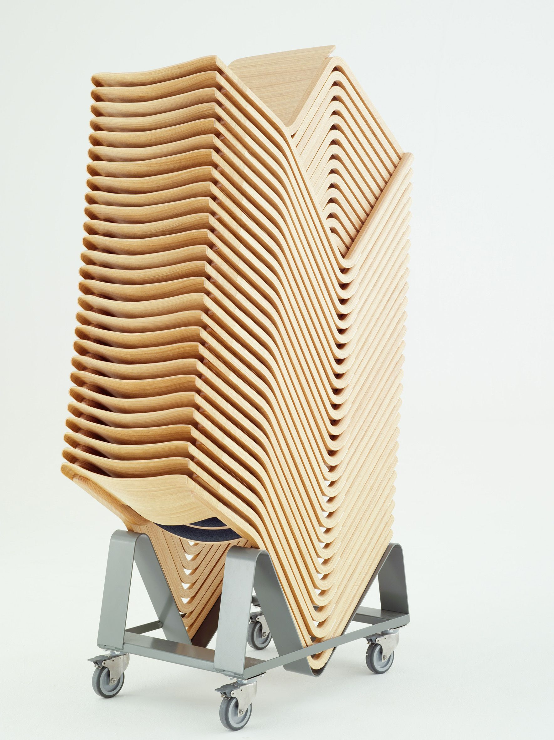 30 Theo chairs stacked!