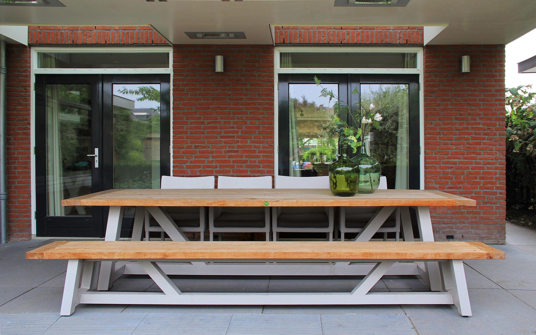 SUNS Bolano - Garden Table & Bench - SUNS Green Collection