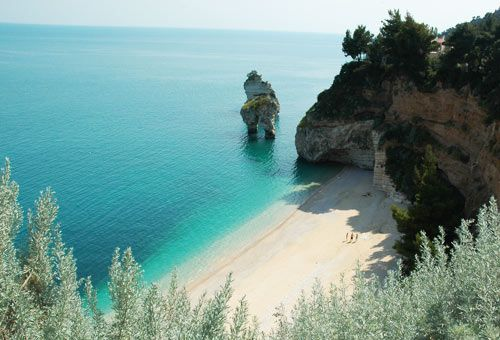 The beaches and the most beautiful bays of the Gargano