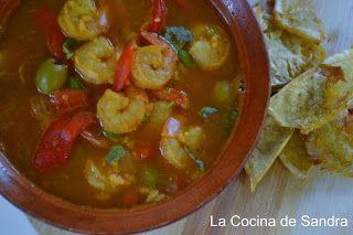 La Cocina De Sandra Asopao De Camarones Puerto Rican Recipes