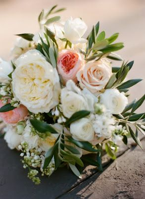 The florals consisted of Patience, Juliet and Combo Garden Roses, Sahara Roses, Iceburg Florabunda Roses, Ranunculus, Lilac, Pieris, Olive Branches, Jasmine Vine and Assorted Local Greenery
