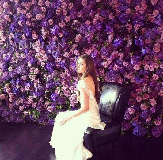 Flowerwall Roses Backdrop Newtrend 2016 Blumendekoration Hochzeit Photobooth Wedding Flower Wall Wedding Wedding Flower Decorations Wedding Backdrop