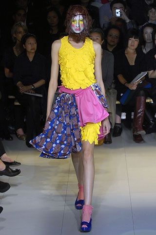 Comme des Garçons Spring 2008 Ready-to-Wear Collection Slideshow on Style.com