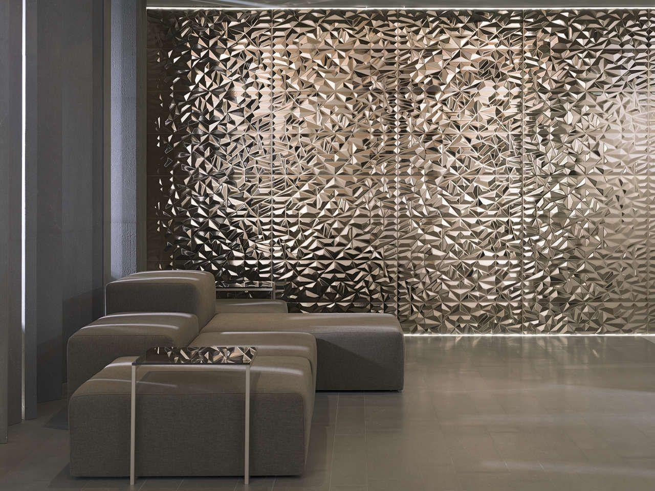 - 47+ Unique Metallic Tiles Metallic Wall Tiles, Wall Tiles, Metal
