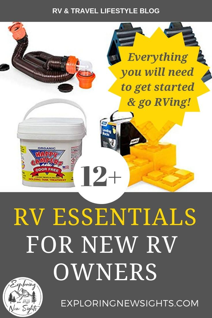 12 must have rv essentials for new rv owners camping