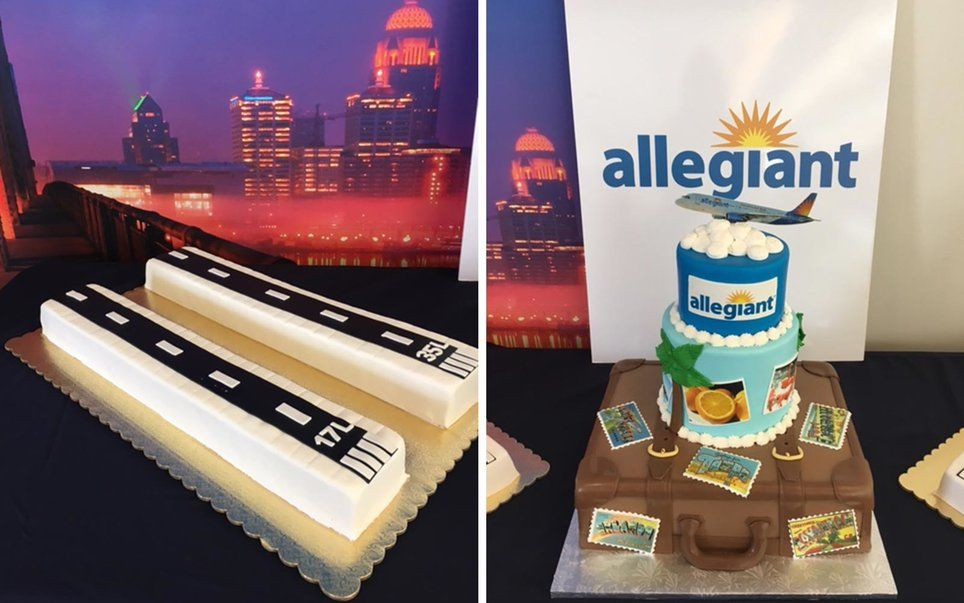 Airlines Celebrate New Routes With Cakes — and They're