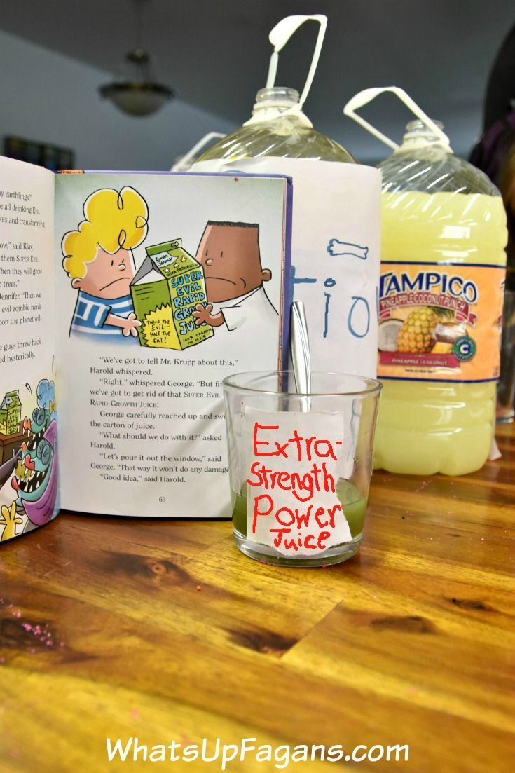 How to Make a Tasty Super Hero Potion with Your Kids | The GROUP