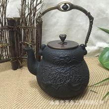 Los fabricantes suministran teteras de hierro fundido a mano la vieja tetera de hierro tetera de hierro venta al por mayor alta imitación japón(China (Mainland))
