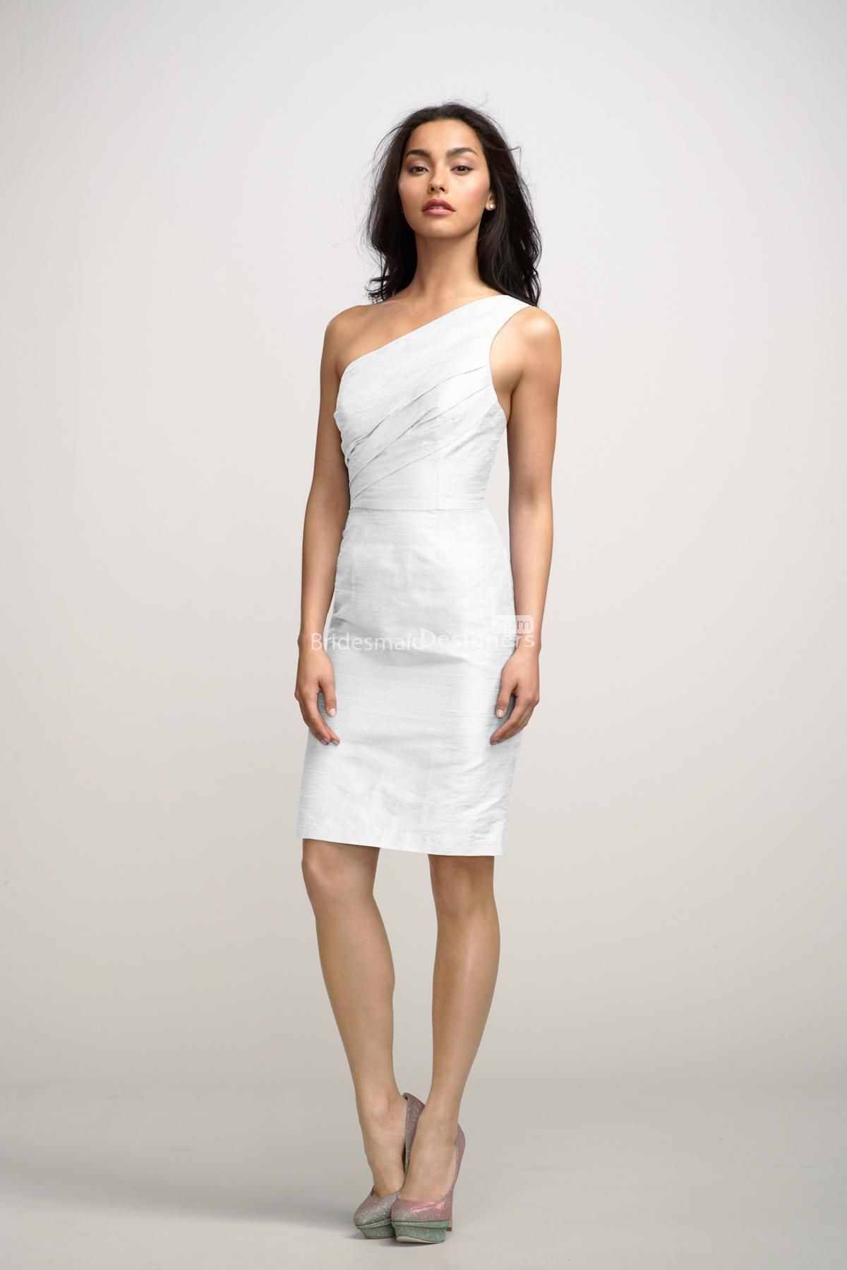 1000  images about One Shoulder Wedding Dresses on Pinterest ...